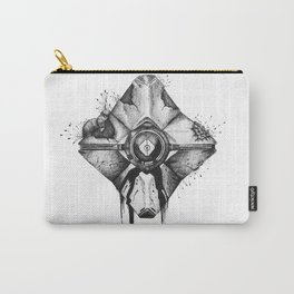 Decaying Ghost Shell Carry-All Pouch
