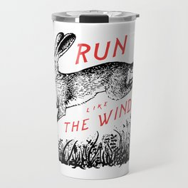 Run Like The Wind Travel Mug
