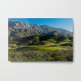 Boney Mountain,CA. Metal Print