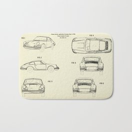 Automobile Porsche-1964 Bath Mat