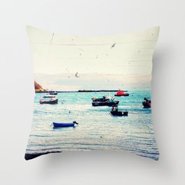 Float On - Original Photographic Work Throw Pillow
