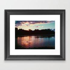 Summer's Farewell [cropped] Framed Art Print