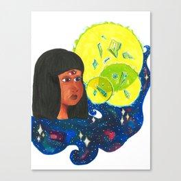 Crystal Gem Canvas Print