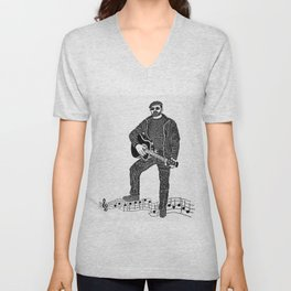Rock 'N' Roll Unisex V-Neck
