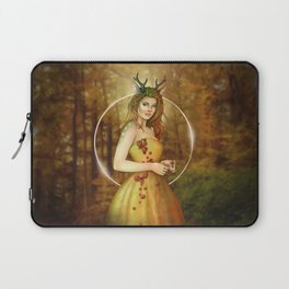 Autumn Woodland Fairy Laptop Sleeve