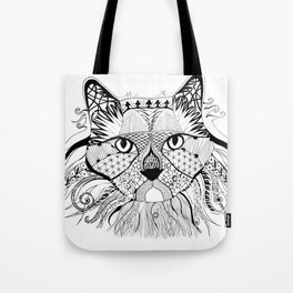 Hunter - The Diva Cat Tote Bag