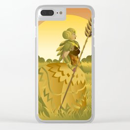 demeter ceres greek roman mythology goddess of agriculture on plantation Clear iPhone Case
