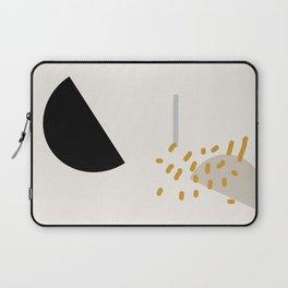 Modern Minimal Abstract Laptop Sleeve