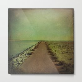 The end of the road Metal Print