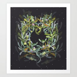 The Mistletoe #3 Art Print
