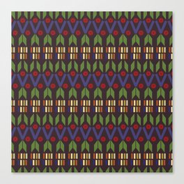 Aztec Print (Patterns Please) Canvas Print
