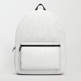 calligraphy pattern 6w - white typography design - abstract pattern Backpack