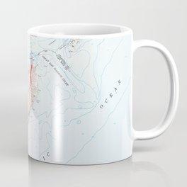 Vintage Map of Ocean City NJ (1952) Coffee Mug