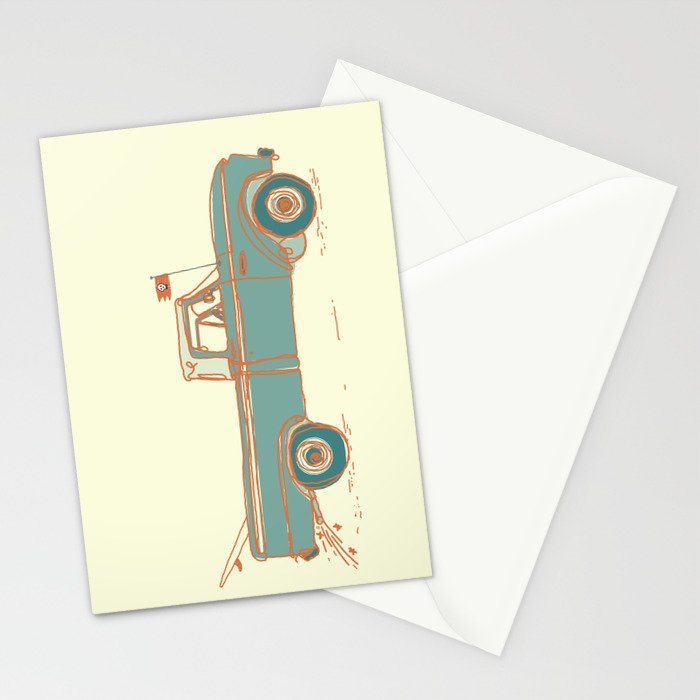 Get Lost #2 Stationery Cards