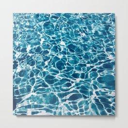Crystal Waters Metal Print