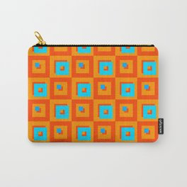 Square Psychedelia Carry-All Pouch