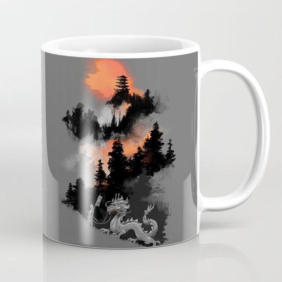 A samurai's life Mug