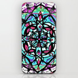 Budding Mandala x4 iPhone Skin