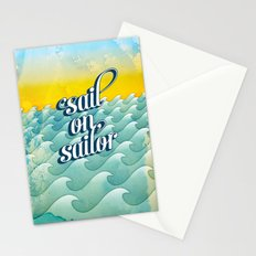 Sail on sailor, Stationery Cards