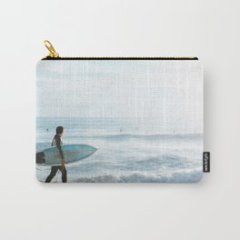 Pray For Surf Carry-All Pouch