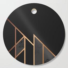 Black & Gold 035 Cutting Board