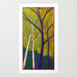 Alberi Art Print