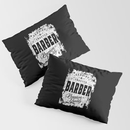 Genuine and Trusted Barber Job Title Gift Pillow Sham