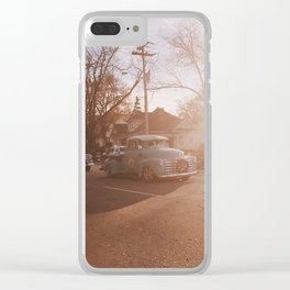 Main Street Parade Clear iPhone Case