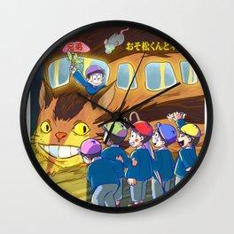 Osomatsu Kun and Neko Bus! 02 Wall Clock