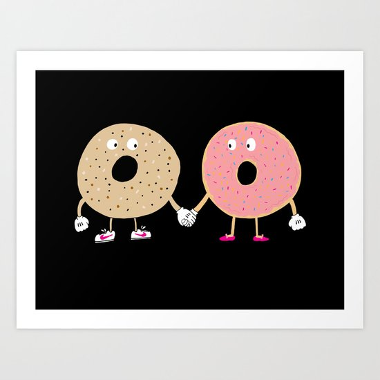 Power Couple Art Print