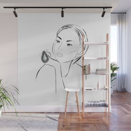 Marble Ring Wall Mural