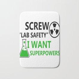 Screw Lab Safety Bath Mat
