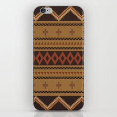 Navajo Pattern iPhone & iPod Skin