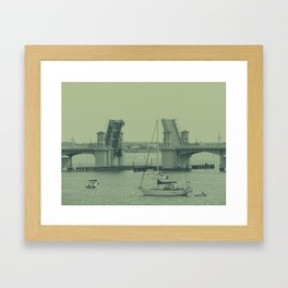 Drawbridge  Framed Art Print