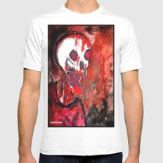 Bloody Zombie Mens Fitted Tee SMALL White