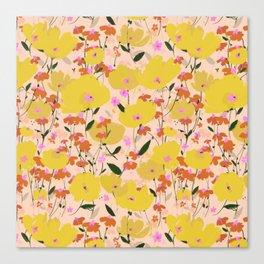 Wild Unruly Garden Canvas Print