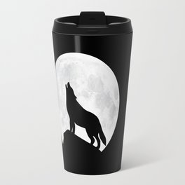 Howling Wolf - Moon Travel Mug