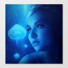 Jellyfish Dreams Canvas Print