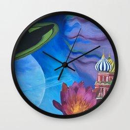 Surreal Skies Wall Clock