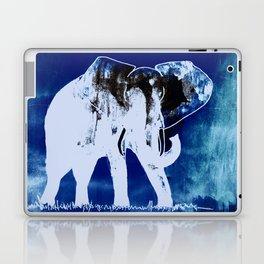 Elephant (blue version) Laptop & iPad Skin