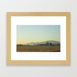 Back from Bellingham #2 Framed Art Print