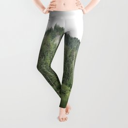 Burnt Lake, Oregon Leggings