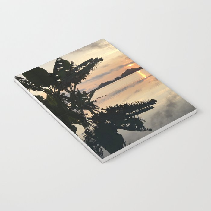 Sunset over Water Notebook