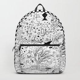 Happy Halloween Doodles Backpack
