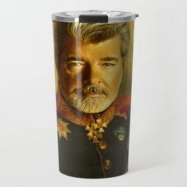 George Lucas - replaceface Travel Mug