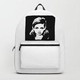 Portrait off Twiggy Backpack