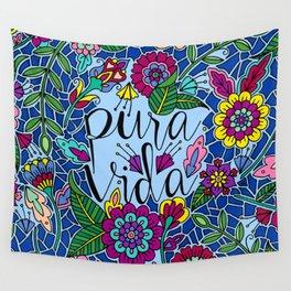 Pura Vida  Wall Tapestry