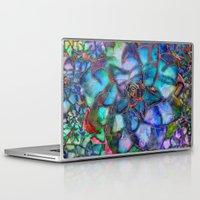 succulent Laptop & iPad Skins featuring Succulent by Klara Acel