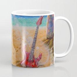 Strange days in paradise Coffee Mug