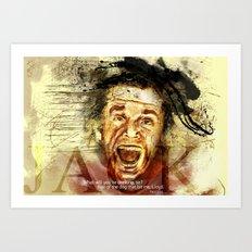 jack torrance Art Print